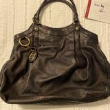 Gucci Bags | Authentic Large Leather Gucci Sukey Tote | Color: Black | Size: 17x14x5