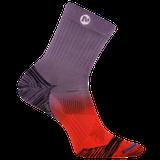 Merrell Bare Access Mid Crew Sock, Size: S/M, Purple