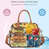 Prep & Savour Insulated Lunch Bag in Yellow, Size 9.3 H x 11.4 W x 7.1 D in | Wayfair 71DCFD9985A1466DA829031AB849DC86