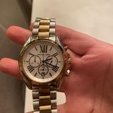Michael Kors Accessories   Michael Kors Two Tone Silver And Gold Watch   Color: Gold/Silver   Size: Os