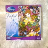 Disney Games | Disney Belle Portrait Puzzle 500 Pcs -Mega Puzzles | Color: Yellow | Size: Os