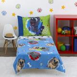 Disney Other | Bedding Set For Toddlers, 4 Pcs. Never Used. | Color: Blue/Gray | Size: Osbb