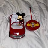 Disney Toys | Like New Mickey Toy Car With Remote | Color: Black/Red | Size: One Size