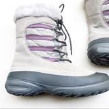 Columbia Shoes | Columbia Faux Fur Winter Boots Omni Heat Us 10 | Color: Gray/Purple | Size: 10