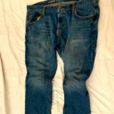 American Eagle Outfitters Jeans | American Eagle Vintage Straight Jeans. | Color: Blue | Size: 44
