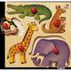 Selecta Holzpuzzle Zoo 4 Teile