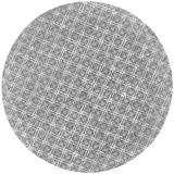 Hartford Tufted Lattice Wool Rug, Cool Gray, 10ft x 10ft Round - Weave & Wander 718R8353GRYSLVN95