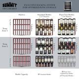 """""""24"""""""" Wide Built-In Wine Cellar, ADA Compliant - Summit Appliance SWC530BLBISTADA"""""""