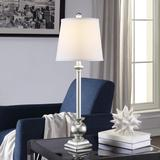 """""""Crestview Collection Margate 29.5""""""""H Resin Buffet Lamp in Silver - Crestview Collection AVP870SNG"""""""