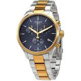 T-sport Chronograph Quartz Blue Dial Watch 00 - Metallic - Tissot Watches