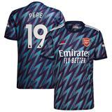 Men's adidas Nicolas Pépé Blue Arsenal 2021/22 Third Replica Player Jersey