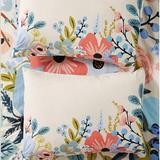 Anthropologie Bedding | Anthropologie -Rifle Paper Co. Garden Party Shams | Color: Blue/Pink | Size: Standard