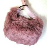 Gucci Bags | Gucci Lilac Rabbit Fur Wristlet Tiny Clutch Purse | Color: Pink/Purple | Size: Mini