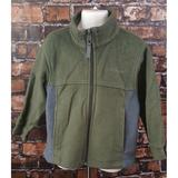 Columbia Jackets & Coats | Columbia Fleece Jacket Youth Boy Size 4-5 Full Zip | Color: Green | Size: 4-5