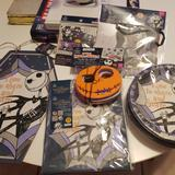 Disney Party Supplies   Nightmare Before Christmas Party Bundle   Color: Black/Gray   Size: Os