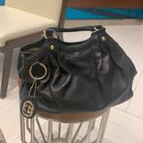 Gucci Bags   Gucci Leather Black Gold Hardware Medium   Color: Black/Gold   Size: Os