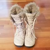 Columbia Shoes   Columbia 200 Grams Winter Waterproof Walking Boots   Color: Cream   Size: 6