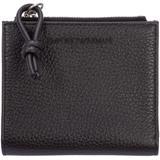 Men's Wallet Coin Case Holder Purse Card Bifold - Black - Emporio Armani Wallets