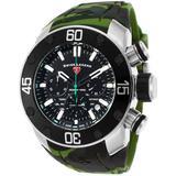 Lionpulse Chronograph Watch 10617sm-01-grns - Black - Swiss Legend Watches