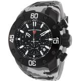 Lionpulse Chronograph Watch 10617sm-bb-01 - Black - Swiss Legend Watches