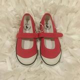 Polo By Ralph Lauren Shoes | Polo Ralph Lauren Pink Mary Janes Sneakers 9 10 | Color: Pink/White | Size: Various