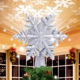 MELODY Christmas Tree Topper in Gray, Size 9.5 H x 9.0 W x 2.8 D in | Wayfair MELODYc8d05f9