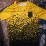 Nike Shirts & Tops | Boys Nike Neymar Yellow Soccer Jersey | Color: Black/Gold | Size: Mb