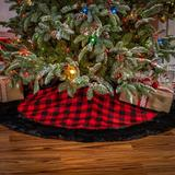 Gerson International Fabric Tree Skirt Polyester in Red, Size 2.0 H x 48.0 W in | Wayfair 2429700EC