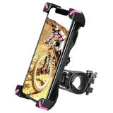Polar Bike Phone Mount 360°Rotation,Universal Motorcycle Handlebar Mount Bicycle Phone Holder Compatible For Iphone 11,12 Pro Max,S9 in Pink Wayfair