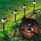 kungreatbig 12 Pack Solar Powered Landscape Lights Outdoor Pathway Lights, Waterproof Solar Garden Lights For Lawn, Patio, Yard, Walkway, Deck