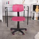 Isabelle & Max™ Cordova Desk Plastic in Pink, Size 34.0 H x 19.0 W x 19.0 D in | Wayfair 15CD840111B84C9E9DD4C992CFCC0C8F