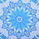 Bungalow Rose Indian Boho Queen Size Wall Hanging Tapestry Cotton in Blue, Size 10.0 H x 10.0 W in   Wayfair E9E1EC8BA68C4A84A25D95DB4C82554B