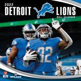 Detroit Lions 2022 Wall Calendar