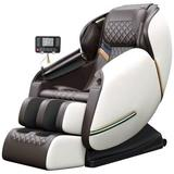 Inbox Zero Full Body Electric Shiatsu Massage Chair w/ Heat-Therapy Warm Massage Rollers Faux Leather in Green | Wayfair