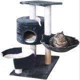 Tucker Murphy Pet™ Cat Tower For Indoor Cats |Cat Condo|Small Cat Tree|Tall Cat Tree|Cat Post|Cat Tower|Cat Scratch Post|Scratching Post| Cat Tree|Cat Basket|Cat Perch|C