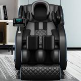 Inbox Zero Full Body Electric Shiatsu Massage Chair w/ Heat-Therapy Warm Massage Rollers, Size 46.0 H x 30.0 W x 57.0 D in | Wayfair