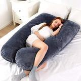Alwyn Home Darr Polyester/Polyfill Body Pillow Plush Support Pillow, Size 27.0 H x 31.0 W x 8.0 D in   Wayfair A80EC522E4B543F29C2AEC1E3B9A0290