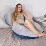 Alwyn Home Decosta Body Pillow Plush Support Pillow, Size 27.0 H x 57.0 W x 8.0 D in | Wayfair CDE616334CEF4673BAB0CCBB3A14B9D3