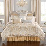 Waterford Bedding Maia Cal. King 4 PC. Comforter Set Polyester/Polyfill/Microfiber in Yellow, Size Queen   Wayfair CSMAIAW71003QU