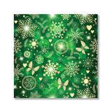 Yosunl Design Craft Kits Multi-color - Green & Cream Snowflake Butterfly DIY Diamond Painting Kit
