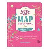 Barbour Books Women's Wellness Books - Life Map Devotional for Women: 28 Weeks of Readings Hardcover