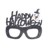 HC Craft Kits Multi-color - Black 'Happy Halloween' DIY Rhinestone Mask Kit