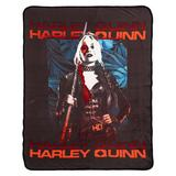 Suicide Squad 2 Tropical Floral Silk Touch Throw, Multicolor