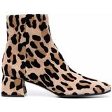 Leopard-print Ankle Boots - Brown - Sergio Rossi Boots