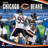 Chicago Bears 2022 Wall Calendar