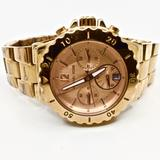 Michael Kors Accessories | Michael Kors~Dylan~Rose-Gold Chronograph Watch | Color: Gold | Size: Sized For A Medium Wrist