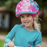 Disney Accessories | Minnie Mouse Bicycle Helmet | Color: Pink/Silver | Size: Osbb
