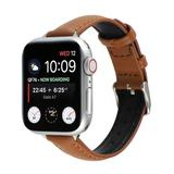 BXD Replacement Bands Brown - Brown Faux Leather Band Replacement for Apple Watch