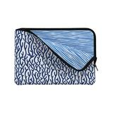 SCOUT Bags Laptop Computer Cases Cays - Blue & White Abstract 15'' Laptop Case