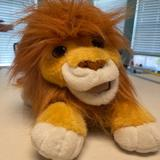 Disney Toys | Lion King - Battery Operated Roaring Simba | Color: Gold | Size: Measurements Shown
